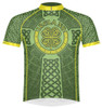 Primal Wear Ireland Celtic Knot Cycling Jersey Men's Short Sleeve with DeFeet Socks