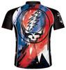 Primal Wear Grateful Dead Magnolia Men's Short Sleeve Cycling Jersey with DeFeet Socks