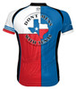 Primal Wear Texas Flag Cycling Jersey Men's Short Sleeve with DeFeet Socks