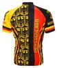 World Jerseys Deutschland Germany Cycling jersey Men's Short Sleeve