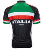 Italy Italia Roma Cycling Jersey by World Jerseys Men's Short Sleeve
