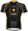 U.S. Army Midnight Eleven Cycling Jersey Men's by Primal Wear  with DeFeet Socks