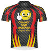 Primal Wear Cranky Old Bastard Men's Cycling Jersey Sport Cut with DeFeet Socks
