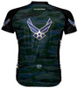 Primal Wear U.S. Air Force Engage Cycling Jersey USAF Mens Short Sleeve with DeFeet Socks