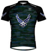 Primal Wear U.S. Air Force Engage Cycling Jersey USAF Men's Short Sleeve with DeFeet Socks
