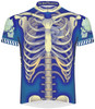 Primal Wear Bone Cycling Jersey Men's Short Sleeve (latest model with full length zipper)  with DeFeet Socks