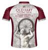 Primal Wear Old Fart Atlas Cycling Jersey Men's Short Sleeve with DeFeet Socks