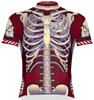 Primal Wear Bone Collector Skeleton Cycling Jersey Men's Short Sleeve with DeFeet Socks