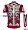 Primal Wear Bone Collector Skeleton Cycling Jersey Men's Short Sleeve with DeFeet Socks