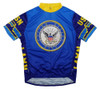 Primal Wear U.S. Navy USN Short Sleeve Cycling Jersey Men's with DeFeet Socks