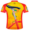 Primal Wear Easy Rider Frog Cycling Jersey Men's Short Sleeve with DeFeet Socks