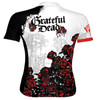 Grateful Dead Skull and Roses Cycling Jersey by Primal Wear Men's with Black Flame DeFeet socks