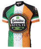 Genuine Irish Ireland Cycling Jersey by World Jerseys Men's Short Sleeve with DeFeet Socks