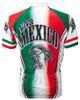 Viva Mexico Cycling Jersey by World Jerseys Men's Short Sleeve plus DeFeet Socks