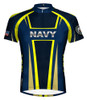 Primal Wear U.S. Navy Team Short Sleeve Cycling Jersey with DeFeet Socks