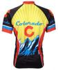 Colorado Cycling Jersey World Jerseys Men's Short Sleeve with Socks