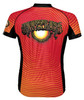 Grateful Dead AOXOMOXOA Cycling Jersey by Primal Wear Men's Short Sleeve with DeFeet Socks