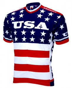 Team USA 1979 Retro Jersey World Jerseys Men's Short Sleeve with Socks