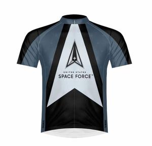 Primal Wear U.S. Space Force Cycling Jersey Men's Sport Cut Short Sleeve with DeFeet Socks