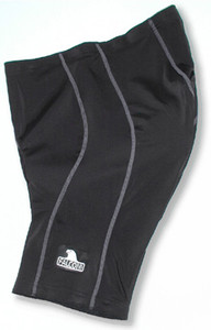 Falconi Cycling Shorts Men's Black with Gray Stitching Nice Seat Pad Free Shipping to all U.S. addresses