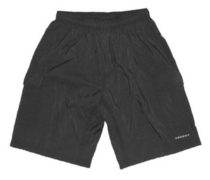 Ascent Baggy Cycling Shorts Black Men's - Nylon Outershorts, Padded Lycra Innershorts