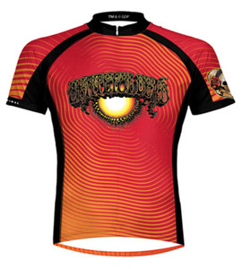 Grateful Dead AOXOMOXOA Cycling Jersey by Primal Wear Men s Short Sleeve  with DeFeet Socks b81d9a7db