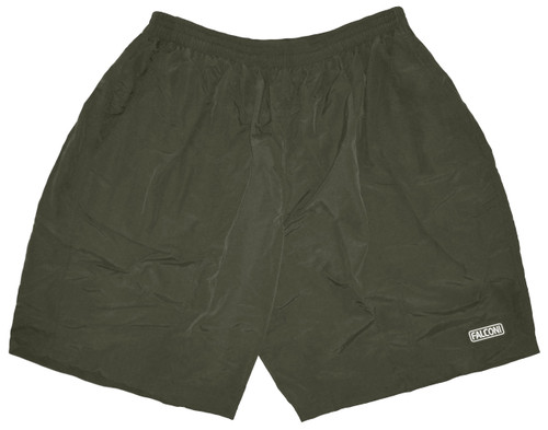SALE Falconi Baggy Cycling Shorts Mens with Padded Lycra Liner, Moss Green, Runs Small,  Free Shipping to U.S. addresses