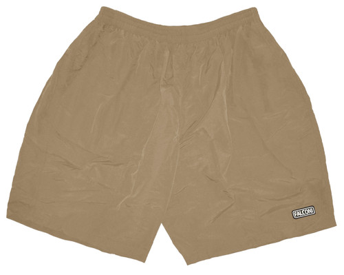 SALE Falconi Baggy Loose Fit Cycling Shorts Mens with Padded Lycra Liner, Khaki, Runs Small, Free Ship to U.S. addresses