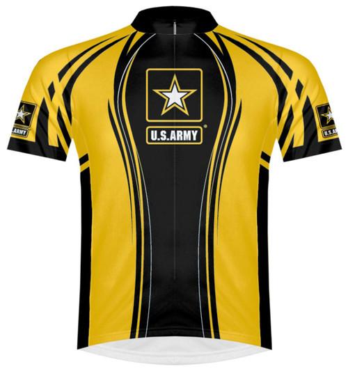 Primal Wear U.S. Army Advance Men's Cycling Jersey Short Sleeve with DeFeet Socks