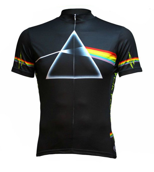 Pink Floyd Dark Side of the Moon Cycling Jersey by Primal Wear Men's Short Sleeve