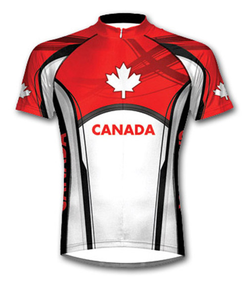 Primal Wear Canada Short Sleeve Cycling Jersey with DeFeet Socks
