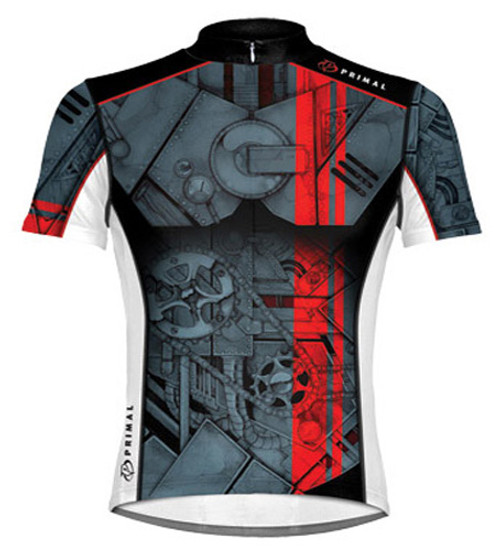 Primal Wear Torque Cycling Jersey Men's Short Sleeve by Primal Wear with DeFeet Socks