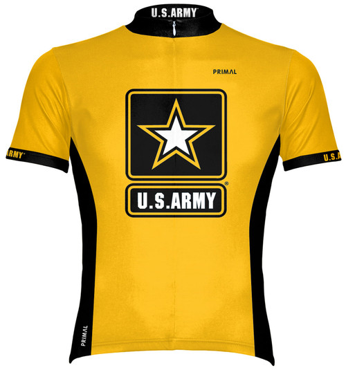 Primal Wear U.S. Army Cycling Jersey Men's Short Sleeve with DeFeet Socks