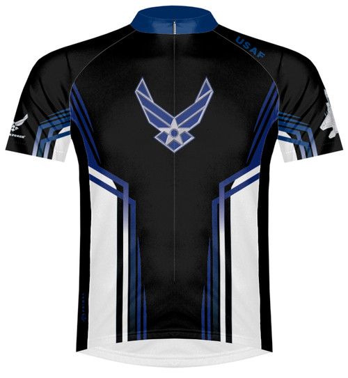 Primal Wear U.S. Air Force USAF Team Cycling Jersey with DeFeet Socks