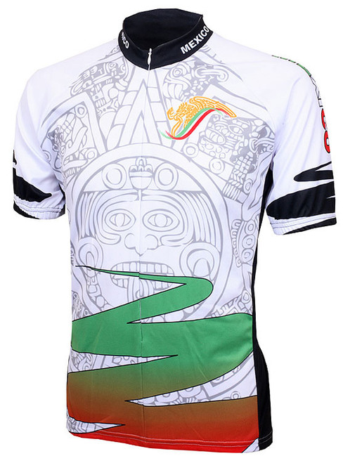 Mexico Aztec Cycling Jersey by World Jerseys