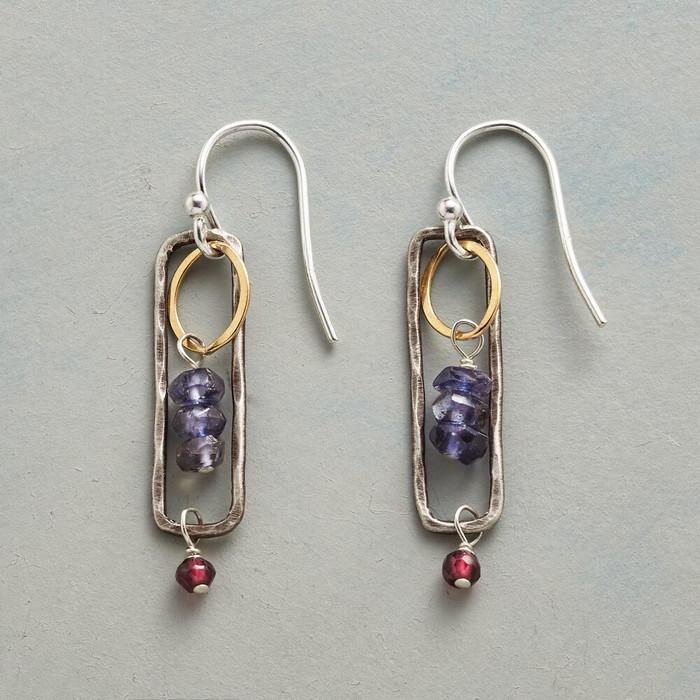 Iolite Breezeway Earrings