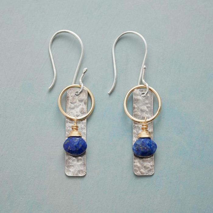 Blue Lantern Earrings