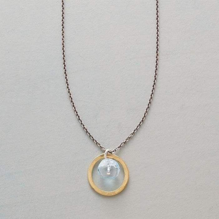 Flying Blue Necklace