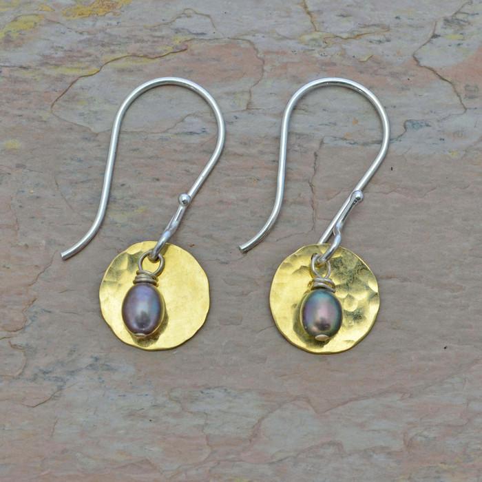 Sundown Pearl Earrings