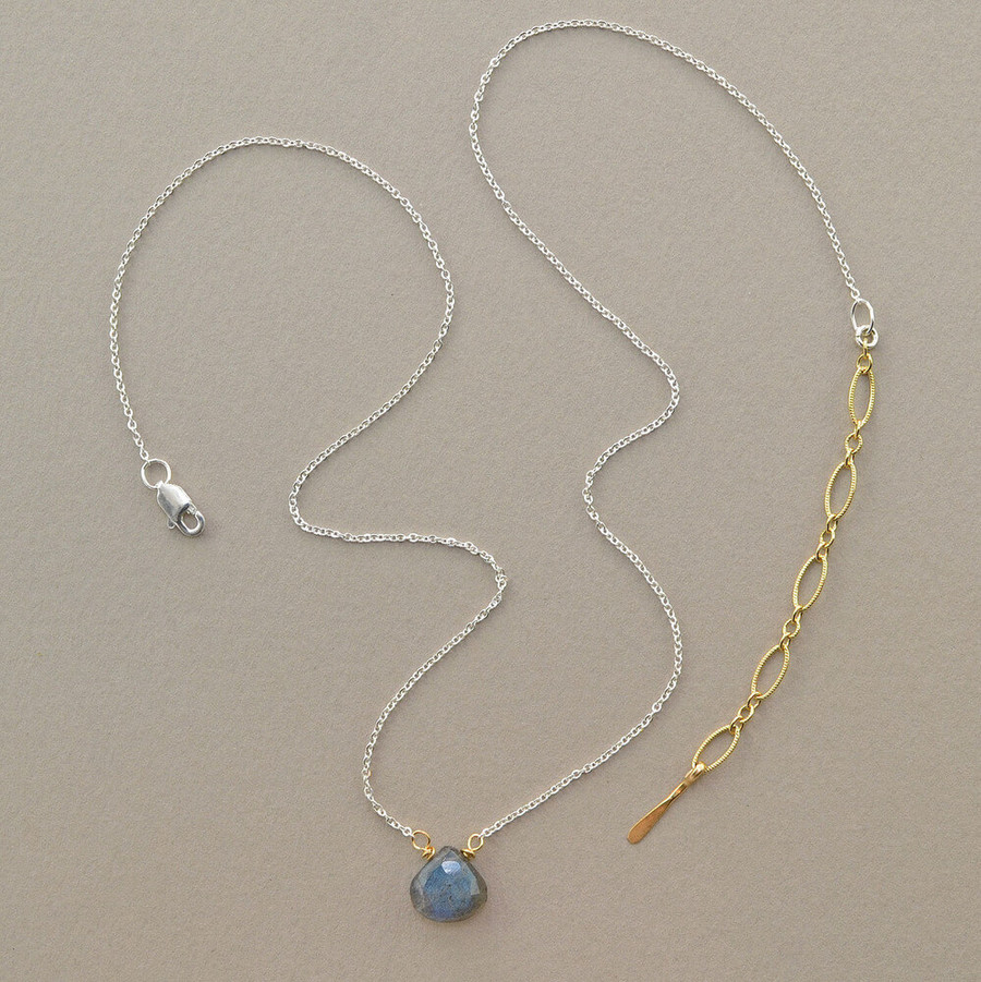 floating handmade gemstone necklace with your favorite gemstone