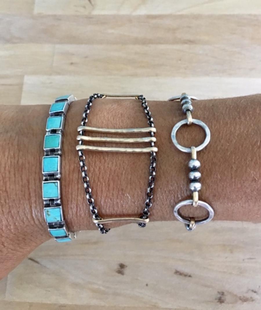 Golden Horizon Bracelet