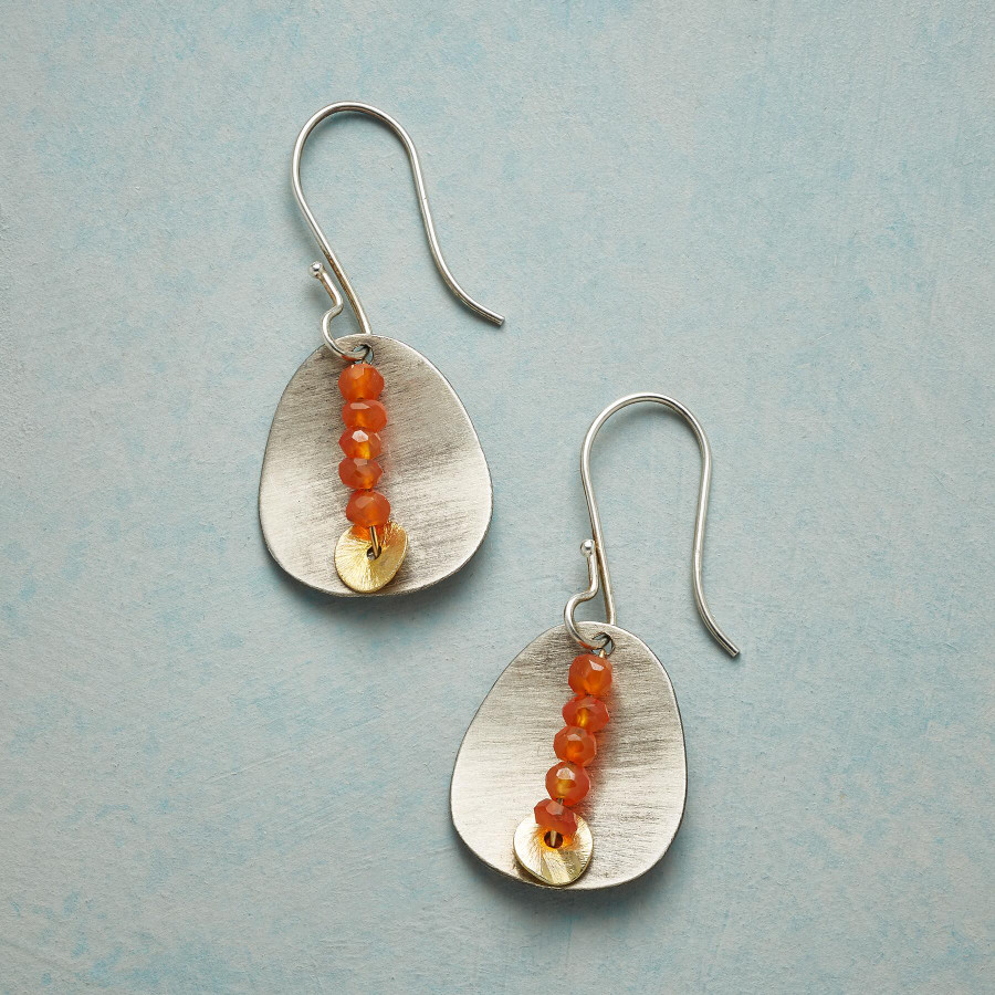 Carnelian Quintet Earrings