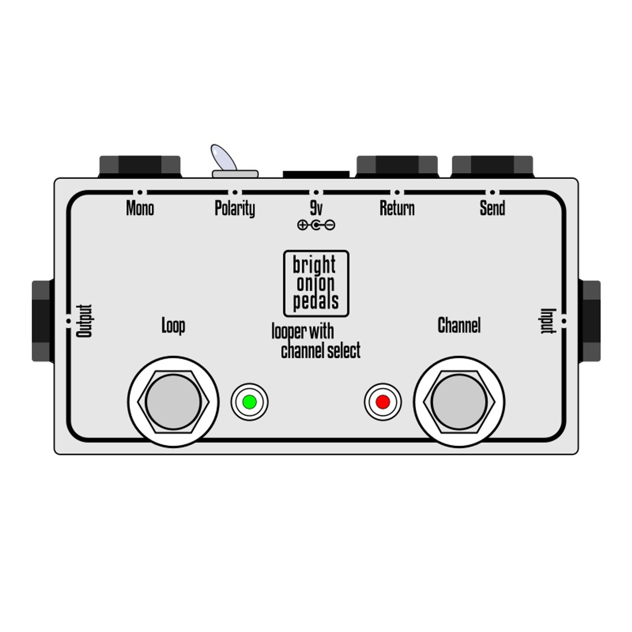 Looper with Amp Channel Selector v2 on