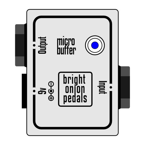 Buffer Pedal – Micro 072 Layout