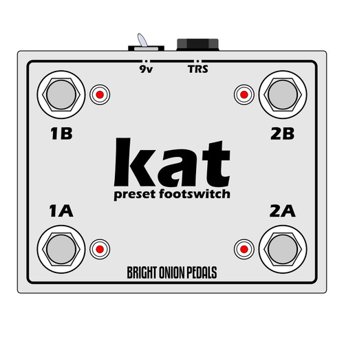 Bright Onion Pedals Kat Preset Footswitch