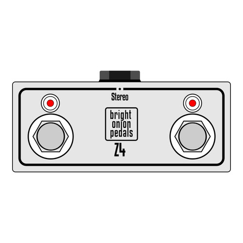 Engl Z4 Amp Footswitch – Mini Dual