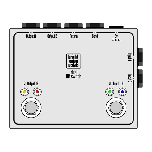 Dual AB Switch with Loop – True Bypass