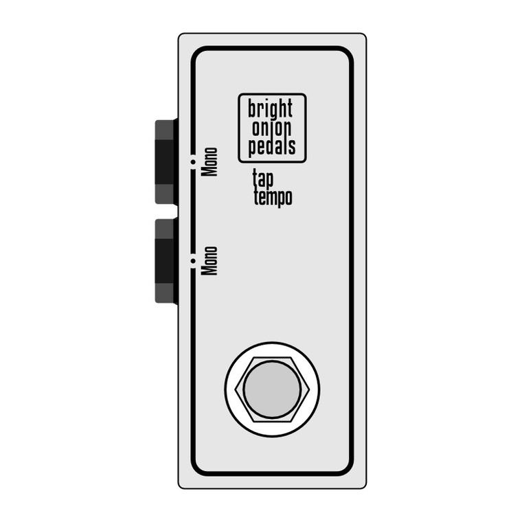 Tap Tempo Footswitch - Dual Layout