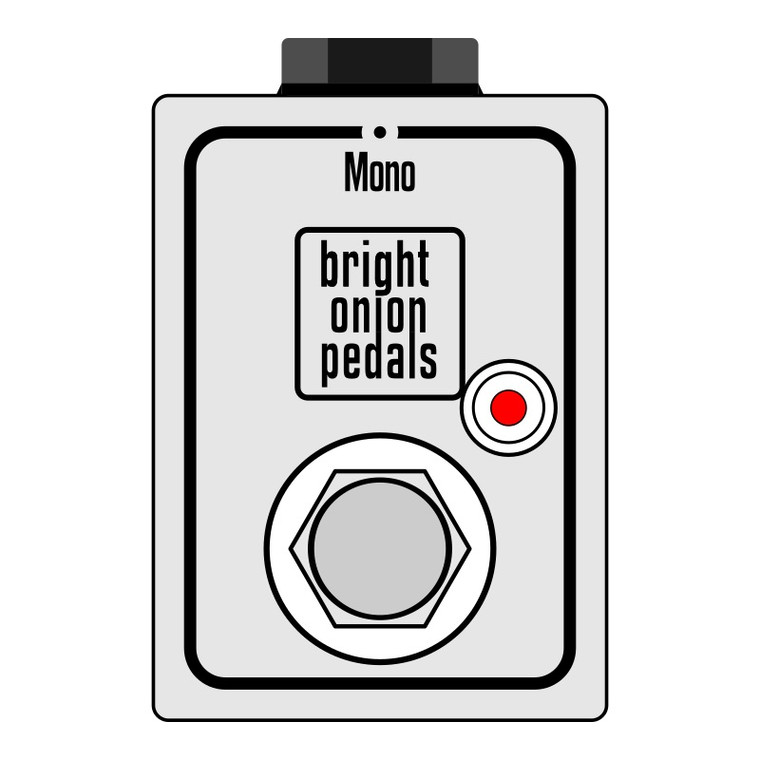Orange Footswitch Pedal - Micro