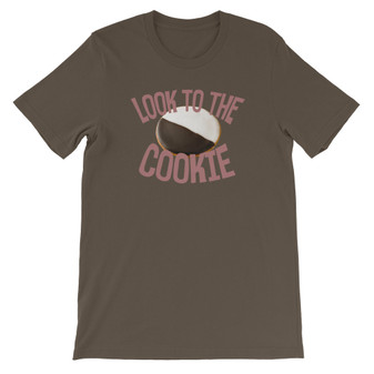 Brown Seinfeld Inspired Look To The Cookie Unisex T-Shirt